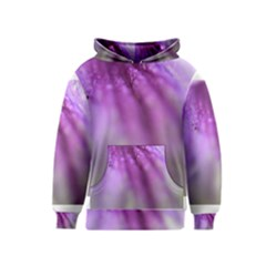 Purple Flower Pedal Kid s Pullover Hoodies by timelessartoncanvas