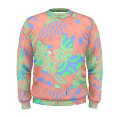 Tropical Summer Fruit Salad Men s Sweatshirt by CrypticFragmentsColors