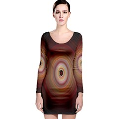 Colour Twirl Long Sleeve Bodycon Dresses by InsanityExpressed