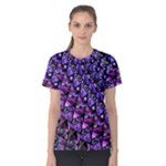 Blue purple Glass Women s Cotton Tee