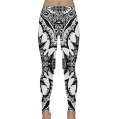 Doodlecross By Kirstenstar D70i5s5 Yoga Leggings by KirstenStarFashion