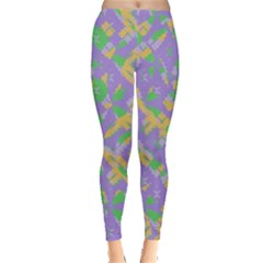 Mixed Shapes Leggings by LalyLauraFLM