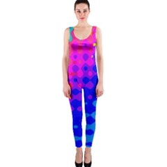 Totally Trippy Hippy Rainbow Onepiece Catsuits by KirstenStarFashion