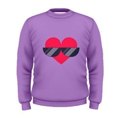 Sunglasses Heart Men s Sweatshirts by ULTRACRYSTAL