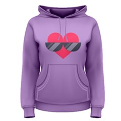 Sunglasses Heart Women s Pullover Hoodies by ULTRACRYSTAL