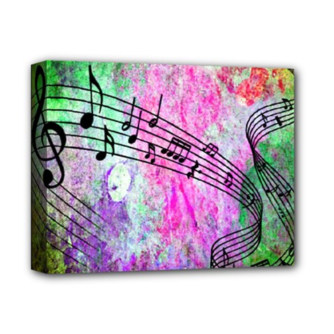 Abstract Music 2 Deluxe Canvas 14  X 11