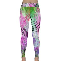 Abstract Music 2 Yoga Leggings by ImpressiveMoments