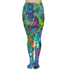 Inked Spot Fractal Art Tights by TheWowFactor