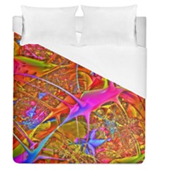 Biology 101 Abstract Duvet Cover Single Side (full/queen Size)