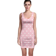 Pink Polka Dots Bodycon Dresses by LokisStuffnMore