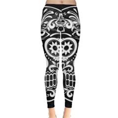Skull Women s Leggings by ImpressiveMoments