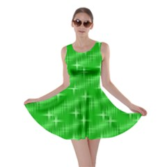 Many Stars, Neon Green Skater Dresses by ImpressiveMoments