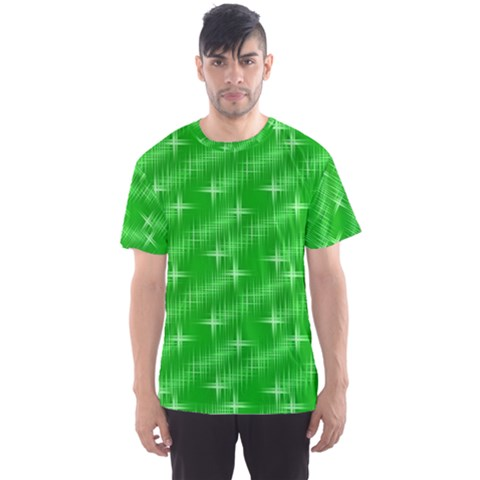 Many Stars, Neon Green Men s Sport Mesh Tees by ImpressiveMoments