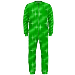 Many Stars, Neon Green Onepiece Jumpsuit (men)  by ImpressiveMoments