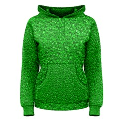 Sparkling Glitter Neon Green Women s Pullover Hoodies by ImpressiveMoments