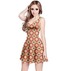 Cute Pretty Elegant Pattern Reversible Sleeveless Dresses by creativemom