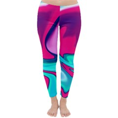 Fluid Art 22 Winter Leggings by ImpressiveMoments
