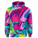 Fluid Art 22 Men s Zipper Hoodies View1