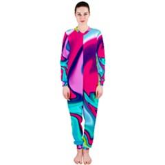 Fluid Art 22 Onepiece Jumpsuit (ladies)  by ImpressiveMoments