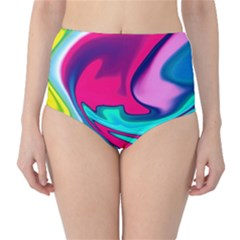 Fluid Art 22 High-waist Bikini Bottoms by ImpressiveMoments