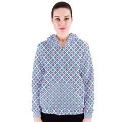 Cute Pretty Elegant Pattern Women s Zipper Hoodies by creativemom