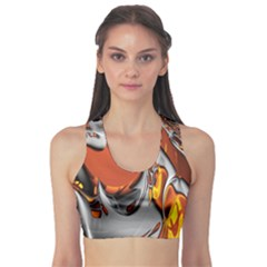 Special Fractal 24 Terra Sports Bra by ImpressiveMoments