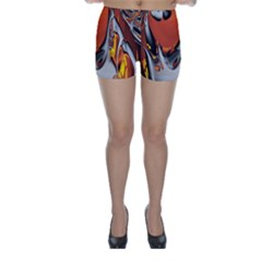 Special Fractal 24 Terra Skinny Shorts by ImpressiveMoments