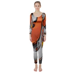 Special Fractal 24 Terra Long Sleeve Catsuit by ImpressiveMoments