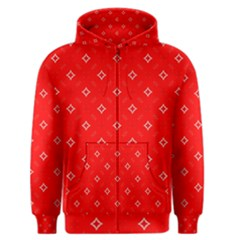 Cute Seamless Tile Pattern Gifts Men s Zipper Hoodies by creativemom