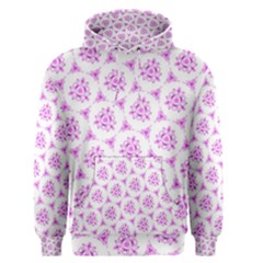 Sweet Doodle Pattern Pink Men s Pullover Hoodies by ImpressiveMoments