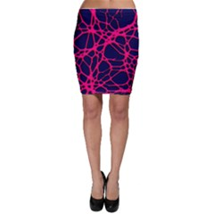 Hot Web Pink Bodycon Skirts by ImpressiveMoments