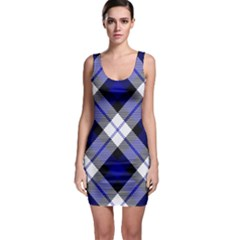 Smart Plaid Blue Bodycon Dresses by ImpressiveMoments