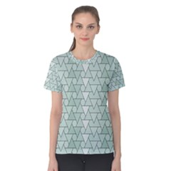 Geo Fun 7 Women s Cotton Tees by MoreColorsinLife
