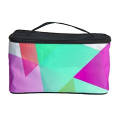 Geometric 03 Pink Cosmetic Storage Cases by MoreColorsinLife