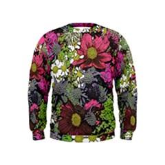 Amazing Garden Flowers 21 Boys  Sweatshirts