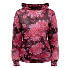 Awesome Flowers Red Women s Pullover Hoodies by MoreColorsinLife