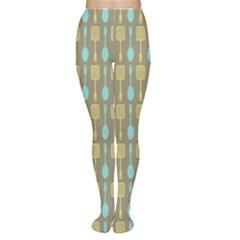Spatula Spoon Pattern Women s Tights by creativemom