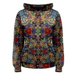 Magnificent Kaleido Design Women s Pullover Hoodies by MoreColorsinLife