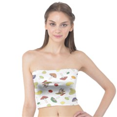 Mushrooms Pattern Women s Tube Tops by Famous
