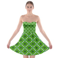 Cute Pattern Gifts Strapless Bra Top Dress by creativemom