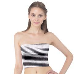 Zebra Print Abstract  Women s Tube Tops by OCDesignss