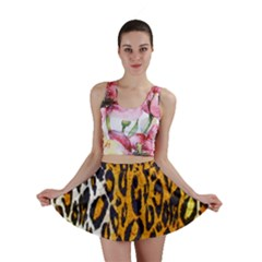 Animal Print Abstract  Mini Skirts by OCDesignss