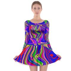 Transcendence Evolution Long Sleeve Skater Dress by icarusismartdesigns