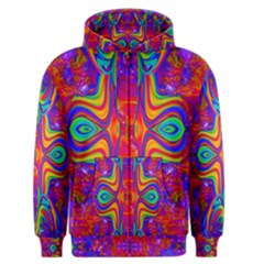 Abstract 1 Men s Zipper Hoodies by icarusismartdesigns