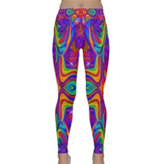 Abstract 1 Yoga Leggings by icarusismartdesigns