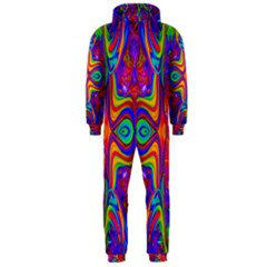Abstract 1 Hooded Jumpsuit (men)  by icarusismartdesigns