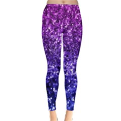 Midnight Glitter Winter Leggings by KirstenStarFashion
