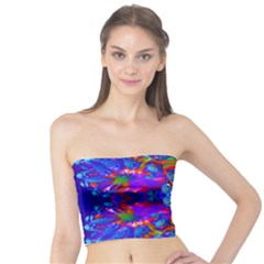Abstract 4 Women s Tube Tops by icarusismartdesigns