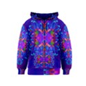 Abstract 5 Kids Zipper Hoodies View1