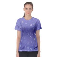Sweetie Soft Blue Women s Sport Mesh Tees by MoreColorsinLife